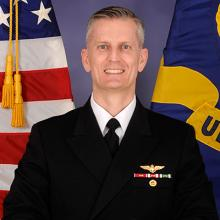 Vice Admiral G. Dean Peters's picture